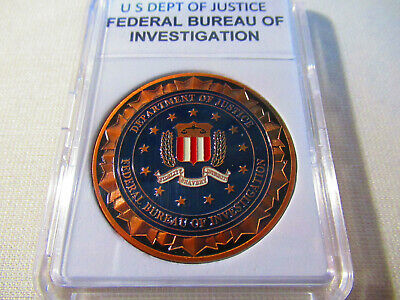 Federal Bureau of Investigation ( FBI ) Challenge Coin (Copper)
