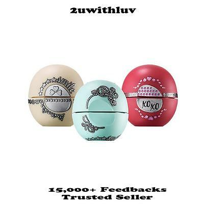 Eos 3 Pack Lip Balm Sphere With Dazzling Twist Holiday Gift  $1 Express Post!