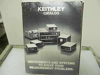 KEITHLEY Electronic Measurement Instruments Catalog ..1976