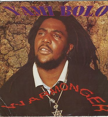 Yami Bolo ‎– Warmonger ORIG UK LP Record Factory ‎ROOTS