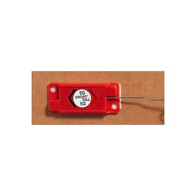 """""""Drop-N-Tell Resettable Indicator 100G, Red, 25 Per Case"""""""