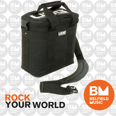 UDG U9500 Ultimate Starter Bag Records Vinyls Carry - Black / White Logo U-9500