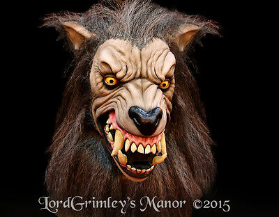 NEW 2015 Officially Licensed American Werewolf in London Lycan Halloween Mask