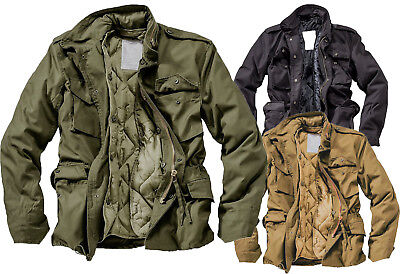 Surplus M65 Feldjacke Fieldjacket Jacke Anorak Winter Parka US Outdoor Militär
