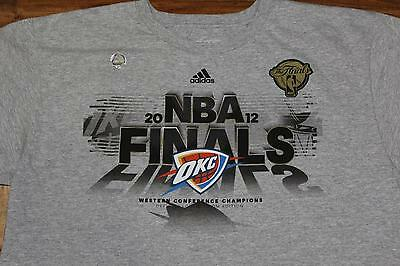 the best attitude 7fd14 d41c8 Adidas Go-To  Oklahoma City Thunder  Finals T-Shirt -Xl-
