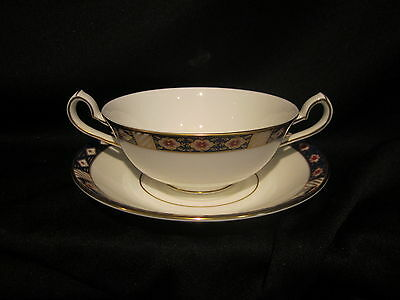 Royal Crown Derby KEDLESTON - Cream & Soup Bowl Stand - BRAND NEW