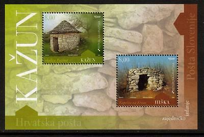Croatia 2009 Mnh Architectural Heritage