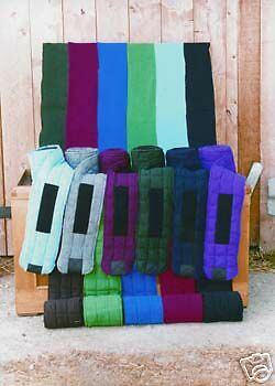 Thermatex Quilted Leg Bandages. Choice Of 22 Colours