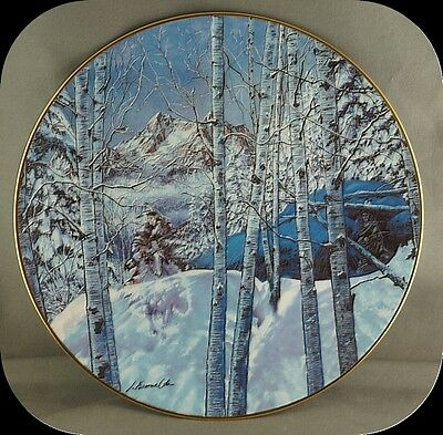 Julie Kramer Cole Kindred Spirits Collector Plate Touching the Spirit