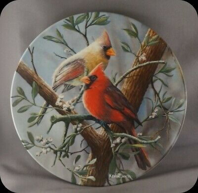 Kevin Daniel The Cardinal Collector Plate