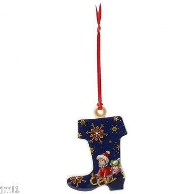 Villeroy & Boch MY CHRISTMAS TREE Ornament: Stocking