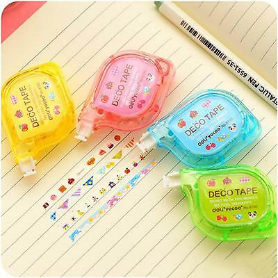 Decorative Tape Letter Diary Stationery Push Correction Tape School Supplies Hot