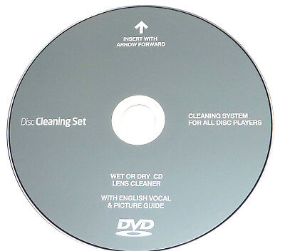 CD/DVD Player Disc Laser Lens Cleaning/Cleaner  for Laptop,Computer,PS2,XBox 360