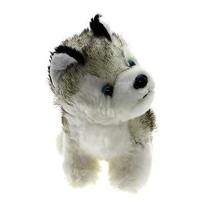 18CM Mini Lovely Husky Dog Plush Soft Toy Children Birthday Present Cute Gift