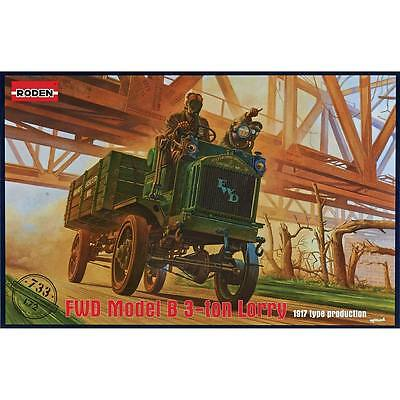 NEW Roden 1/72 FWD Model B 3-Ton Lorry 733