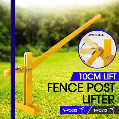 Post Lifter Puller Remover Fencing Star Picket Steel Pole Tool Fence Energiser