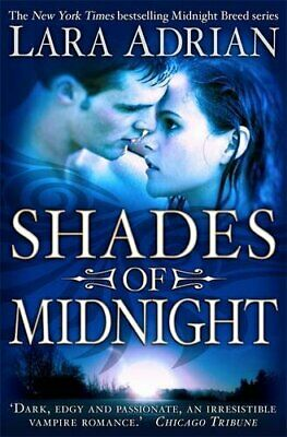 Shades of Midnight (Midnight Breed), Adrian, Lara Paperback Book The Cheap Fast