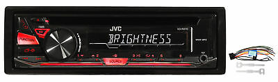 JVC KD-R370 In-Dash Car Stereo CD/MP3 Player Receiver w/Dual Aux Inputs KDR370