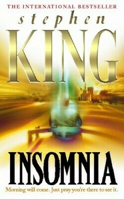 Insomnia, King, Stephen Hardback Book The Cheap Fast Free Post