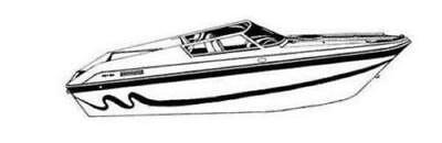 7oz STYLED TO FIT BOAT COVER ELIMINATOR 260 EAGLE XP 2004-2014