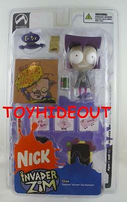 Palisades Toys Invader Zim Gaz Action Figure Eyes Wide Hot Topic Exc Nickelodeon