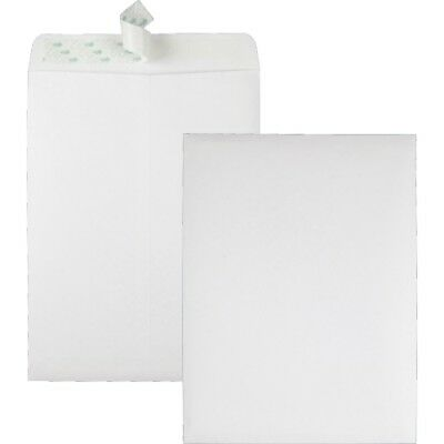 Quality Park Redi Strip Catalog Envelope, 9 X 12, White, 100/box