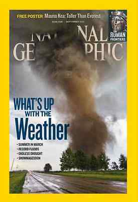 National Geographic Revista ~ Septiembre 2012 ~ Whats Up With El Tiempo