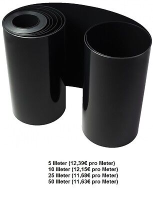 Root barrier/Rhizome barrier black Thickness: 2 mm height: 60 cm
