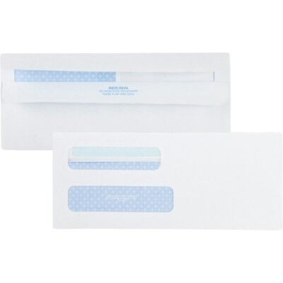 Quality Park Double Window Tinted Redi-Seal Check Envelope #8 5/8white 500/box