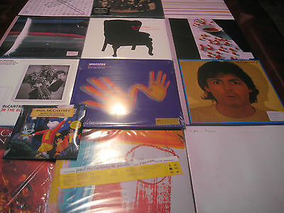 Paul Mccartney Solo & Wingspan Collectors 25 Titles 44 Sides Of Vinyl Rare Set