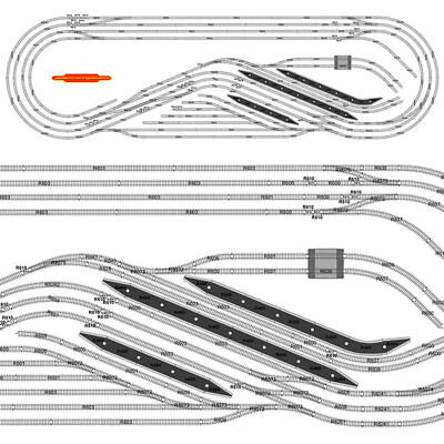 HORNBY Digital Train Set HL10 Large Layout - Multi Track with Train B