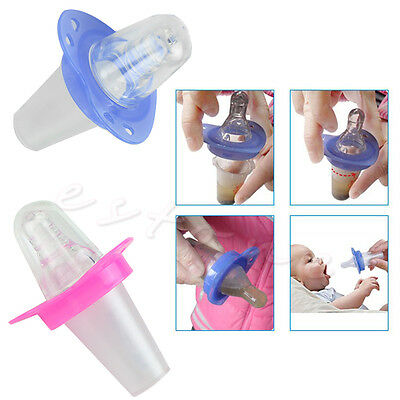 Kids Meals Clip Pacifiers Drug Baby Silica Gel Nipple Food Supplements Tools