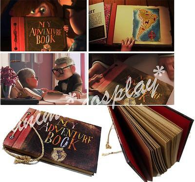 UP, My adventure book, Photo album Hand Made Movie theme for lovers 40 pages