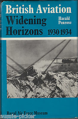 British Aviation Widening Horizons 1930-1934 Harald Penrose 1979