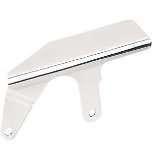 Shorty Upper Belt Guard Drag Specialties Chrome 1202-0019