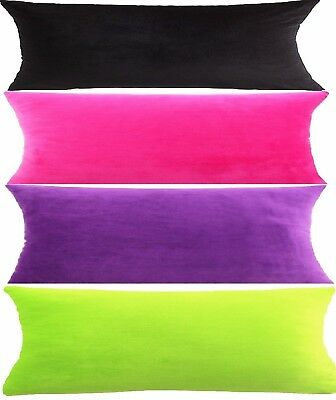 Body Maternity Pillow + Velour  Soft Plush Cover 11 Colors Cover Only Option NEW