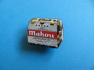Mahou Beer Pin Badge. VGC. Unused.