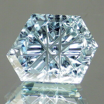 UNTREATED BLUE TOPAZ-NAMIBIA 23.96Ct FLAWLESS-AMAZING JEWELRY / INVESTMENT!!