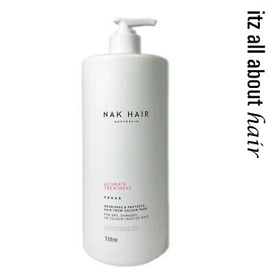 Nak ULTIMATE TREATMENT  60 SECOND REPAIR 1lt  Nak Approved Stockists