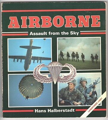 Military Book:  Airborne Assault from the Sky - by Hans Halberstadt