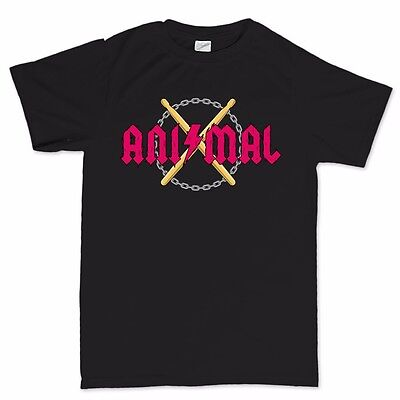 Animal ACDC Muppet Tribute Show Concert Ticket LP Vinyl CD Band T shirt Tee Top