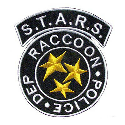 RESIDENT EVIL S.T.A.R.S. Raccoon Police HOOK PATCH