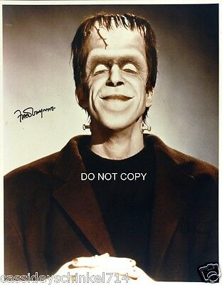 "Fred Gwynne from The Munsters as Herman TV Show 8x10"" reprint Signed Photo RP"