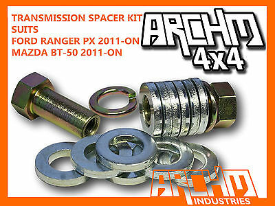 Mazda Bt-50 Ford Ranger Px Centre Bearing Spacer Kit - Reduces Vibration