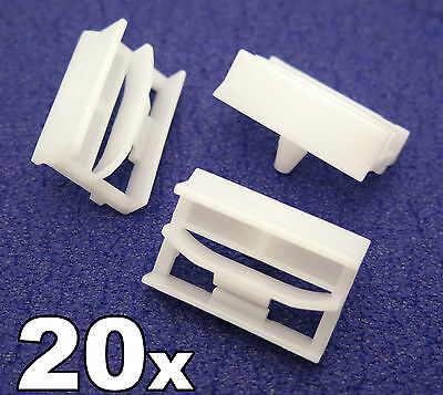 20x BMW 3-Series Sideskirt Plastic Clips- Plastic Bracket for Sill Moulding Trim