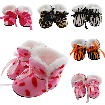 Nobby 0-12 Month Baby Girl Newborn Winter Warm Boots Toddler Infant Sole Shoes