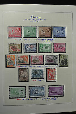 Lot 24805 Collection stamps of Ghana 1957-1971.