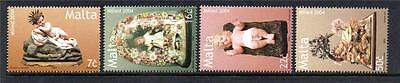 Malta Mnh 2004 Sg1397-1400 Christmas Set Of 4