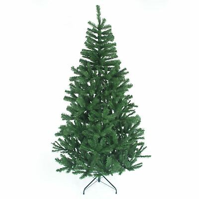 4ft,5ft,6ft,7ft,8ft Artificial Green Christmas Tree Indoor Xmas Decorations