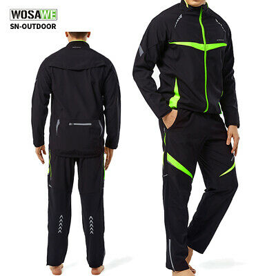 Men Cycling Pro Winter Autumn Long Sleeve Bicycle Set Suit Jersey Jacket Pants